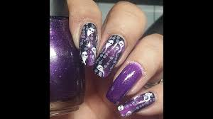 del taco halloween horror nights the grudge inspired nail art tutorial halloween horror