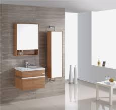 bathroom cabinet view oak bathroom mirror decor modern on cool