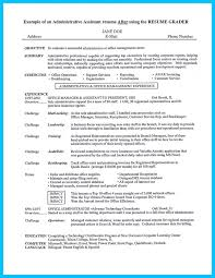 Resume Templates For Administration Job by Best 20 Administrative Assistant Resume Ideas On Pinterest