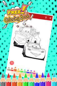 mcqueen coloring pages cars android apps on google play