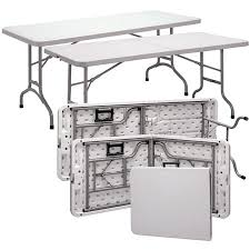 plastic fold out table nice white plastic folding table officesource blow molded tables
