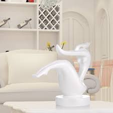 Modern White Home Decor Best And Cheap White Tomfeel Dance Balance Resin Sculpture Home