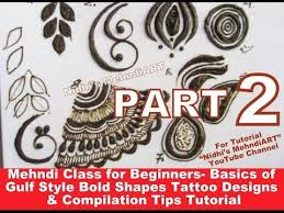 part 2 mehndi class for beginners basics of gulf style bold henna
