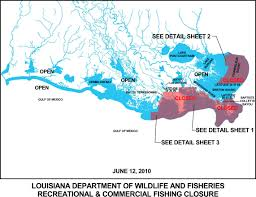 South Louisiana Map by Louisiana Department Of Wildlife And Fisheries Amends Fishing