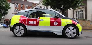 bmw i3s are now equipping the london fire brigade bmwcoop