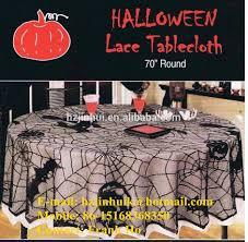 halloween lace tablecloth black renda teia de aranha halloween 70 toalhas de mesa redonda