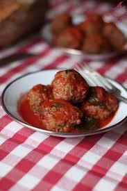 cuisine sicilienne polpette à la sicilienne boulettes de viande à la menthe en sauce