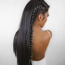 hair jewelry beaded hair rings braid accessories hair hoop rings for hair