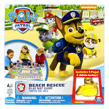paw patrol 6026808 gioco da pavimento beach rescue amazon