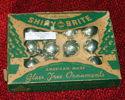 collections vintage shiny brite ornaments gerald joan