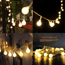 amazon com 4m 40 led ball styled string lights battery operated
