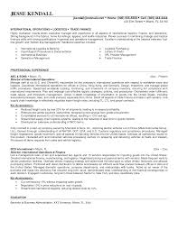 Resume Format For Overseas Job Resume Format Abroad Job Director Operations Resume Sales Director