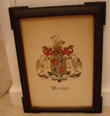 family crest weems family coat of arms for sale antiques com