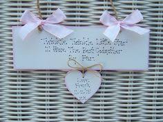 godmother gifts to baby personalised baby girl newborn christening godchild goddaughter
