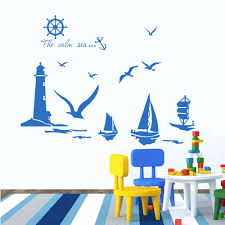 wall ideas 3d wallpaper waves dophin water seagull wall murals flying seagull wall art seagull wall art stickers vinyl wall stickers home decor sailboat lighthouse seagull wall art decals for kids room decoration