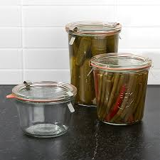 weck canning jars crate and barrel