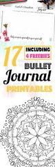 17 bullet journal printables july 2017 freebies wundertastisch