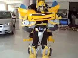 Transformer Halloween Costumes Bumblebee Transformer Halloween Costume