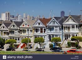 famous san francisco landmark the painted ladies victorian houses