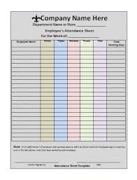 Staff Roster Template Excel Free Meeting Attendee List Template