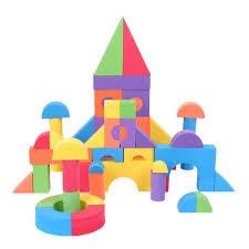 light brick sets 2018 kids super light eva foam building blocks toys brick set kid