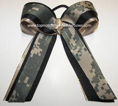 camo ribbon camouflage digi camo green camo ribbon cheer bow football