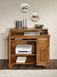 bureau informatique bois massif meubles bois massif fr unique petit bureau informatique elise en