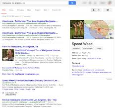 Los Angeles California Google Maps by 420 Dilemma Marijuana Emerges In Local Search