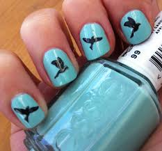 diamond art on nailsartnailsart lavender color design nail art