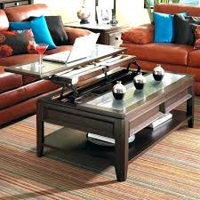 coffee table that raises up coffee table raises to dining learningmonk me