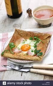 cuisine crepe galette sarrasin buckwheat crepe cuisine stock
