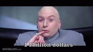 Dr Evil Meme - austin powers 100 billion dollars gifs tenor
