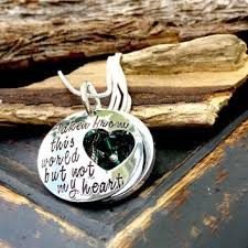 Personalized Memorial Necklace Best Loss Of Loved One Necklace Products On Wanelo
