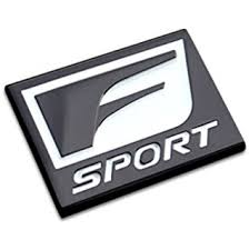 lexus f sport badge amazon com auto car f sport for 2015 gs350 is250 is350 rear