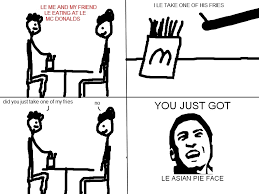 Asian Meme Face - it s called le asian pie face i got it from 108560791 added by