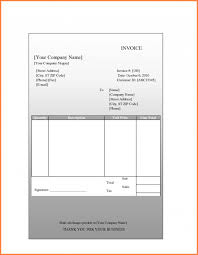 5 blank invoice template for mac invoice template