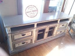 repurposing furniture dresser to media center