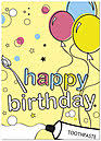 dental birthday cards from posty cards inc