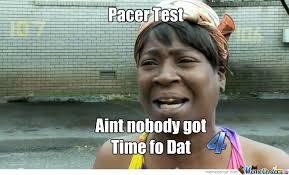 Pacers Meme - pacer test meme by jack mifflin 1 meme center