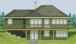 walk out basement home plans vacation home plans with walkout basement walkout basements plans