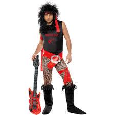 80 u0027s rocker men u0027s halloween dress up role play costume walmart com