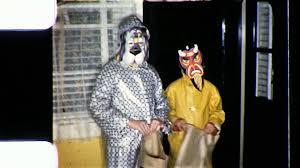 1960s Halloween Costume Happy Kids Trick Treat Children Halloween 1960s Vintage Film