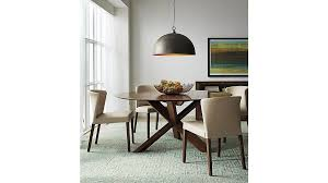 Apex  Round Dining Table Crate And Barrel - Barrel kitchen table