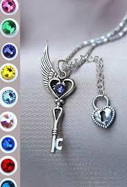 gem key necklace images 116 best key necklaces images key necklace jewels jpg
