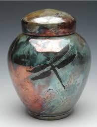 memorial urns dragonfly raku urn memorial urns