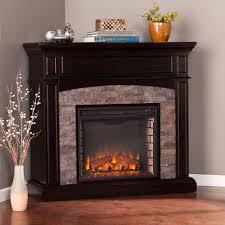 corner media electric fireplace home decorating interior design