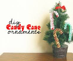 candy cane diy ornament 5 steps with pictures