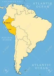 Latin And South America Map by Maps Of Latin America Lanic Political Map Of South America 1200
