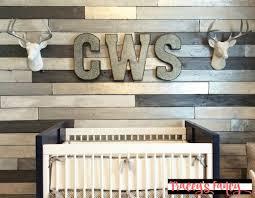 the metallic wood plank wall traceys fancy