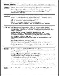engineering internship resume examples of internship resume for